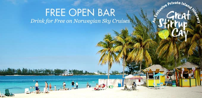 4-Day Bahamas from Miami (Free Open Bar)